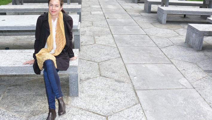 Marie Glaser, Leiterin ETH Wohnforum - ETH Case an der ETH Zürich (Aufgenommen im Mai 2016)