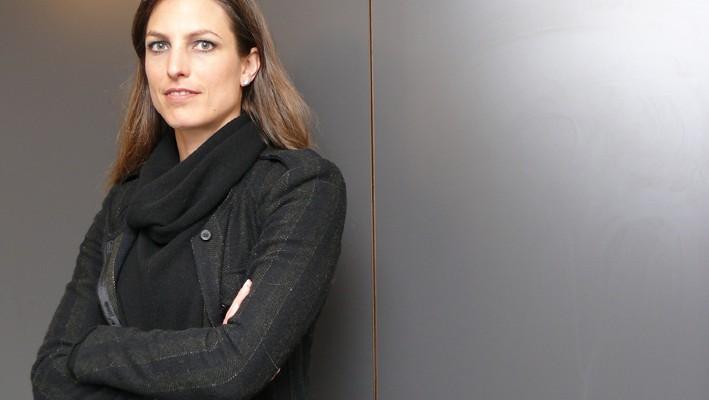 Daniela Spuhler-Hoffmann, Inhaberin und VRP der Bauunternehmungen Esslinger AG und Barizzi AG (Aufgenommen im März 2015)