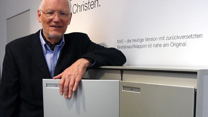 Hans Ruedi Schweizer , CEO und VRP Ernst Schweizer AG (Aufgenommen im Februar 2015)