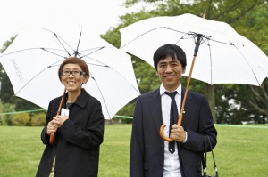 Kazuyo Sejima and Ryue Nishizawa at Grace Farms ground breaking