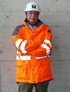 Luzi R. Gruber, FGU-Präsident und CEO seiner Swiss Tunnel Holding (Aufgenommen im Mai 2015)