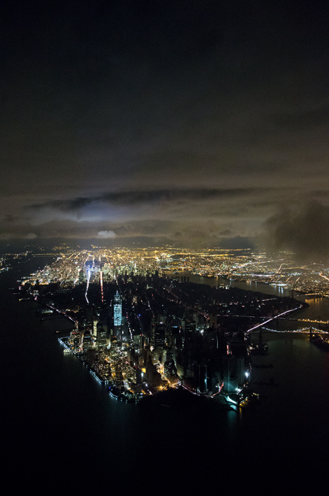 Stromausfall in Manhattan nach Hurrikan Sandy (Iwan Baan, 2012)