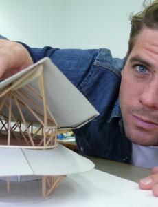 Lukas Zollinger, Architekt (Aufgenommen im April 2016)